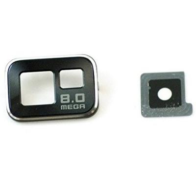 Sklíčko zadní kamery Samsung i9100 Galaxy S2 černá