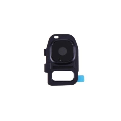 Sklíčko zadní kamery Samsung G930 S7, G935 S7 Edge černá