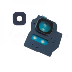 Sklíčko zadní kamery Samsung G955 Galaxy S8 PLUS modrá