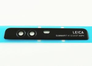 Sklíčko zadní kamery Huawei P9 černá
