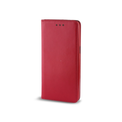Pouzdro Smart Book MAGNET Huawei Y6 II barva červená