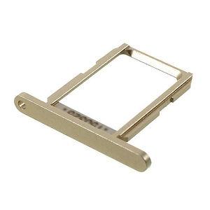 Držák (šuplík) SIM Samsung G920 Galaxy S6 gold