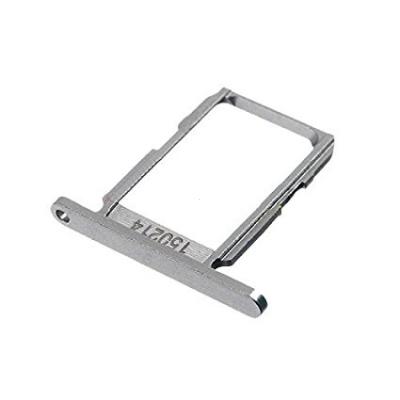 Držák (šuplík) SIM Samsung G920 Galaxy S6 silver