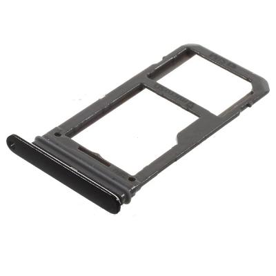 Držák (šuplík) SIM Samsung G950 S8, G955 S8 PLUS black