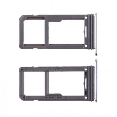 Držák (šuplík) SIM Samsung G950 S8, G955 S8 PLUS grey