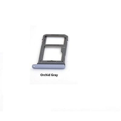 Držák (šuplík) SIM Samsung G950 S8, G955 S8 PLUS orchid grey