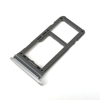 Držák (šuplík) SIM Samsung G950 S8, G955 S8 PLUS arctic silver
