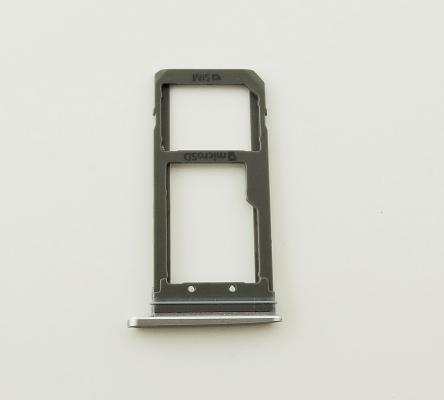 Držák (šuplík) SIM Samsung G935 Galaxy S7 Edge gold