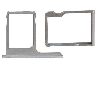 Držák (šuplík) SIM HTC One M8 stříbrná