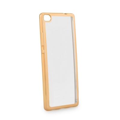 Pouzdro Jelly Case ELECTRO RING iPhone 7 4,7 - zlatá