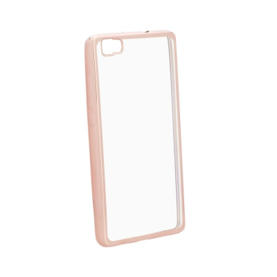 Pouzdro Jelly Case ELECTRO RING Huawei MATE 9 - rose gold