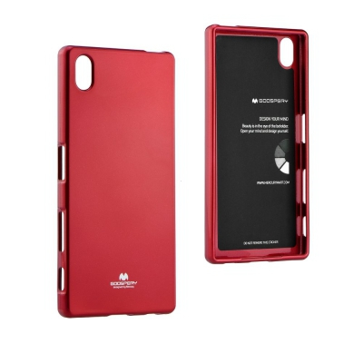 Pouzdro MERCURY Jelly Case Xiaomi Redmi 4A červená
