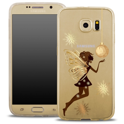 Pouzdro Back Case FASHION Samsung G920 Galaxy S6 transaprentní - víla