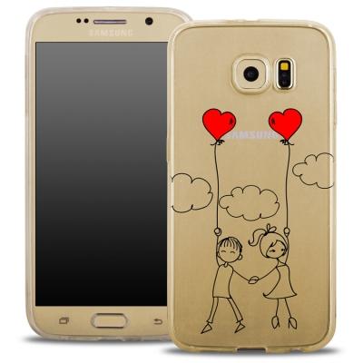 Pouzdro Back Case FASHION Samsung G935 Galaxy S7 Edge transaprentní - děti