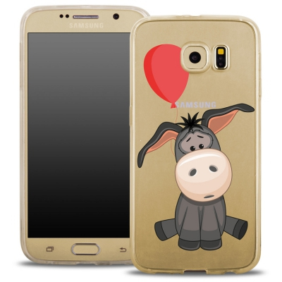Pouzdro Back Case FASHION Samsung G935 Galaxy S7 Edge transaprentní - oslík
