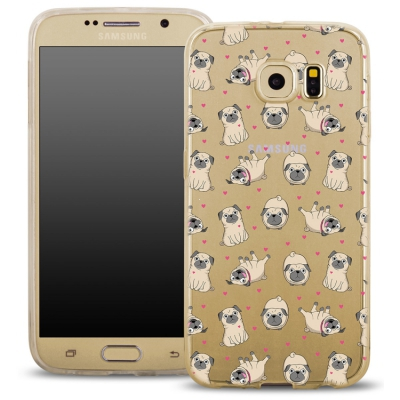 Pouzdro Back Case FASHION Samsung G920 Galaxy S6 transaprentní - buldoci