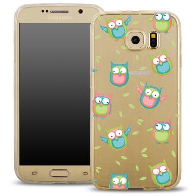 Pouzdro Back Case FASHION Samsung A510 Galaxy A5 (2016) transaprentní - sovy