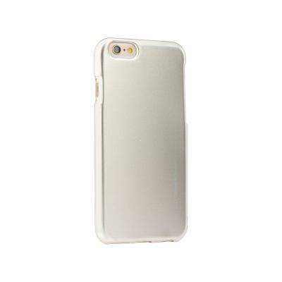 Pouzdro MERCURY i-Jelly Case METAL iPhone 6, 6S 4,7 zlatá