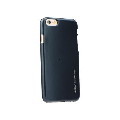 Pouzdro MERCURY i-Jelly Case METAL iPhone 7, 8 (4,7) černá