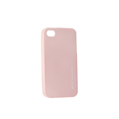 Pouzdro MERCURY i-Jelly Case METAL iPhone X, XS (5,8) rose gold