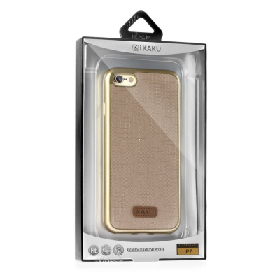 Pouzdro KAKU WALL Samsung A510 Galaxy A5 (2016) barva zlatá