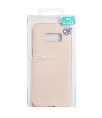 Pouzdro MERCURY Soft Feeling Case Samsung J320 Galaxy J3 (2016) béžová (pink sand)
