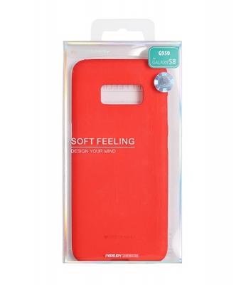 Pouzdro MERCURY Soft Feeling Case Samsung A520 Galaxy A5 (2017) červená