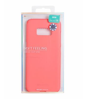Pouzdro MERCURY Soft Feeling Case Samsung A520 Galaxy A5 (2017) růžová