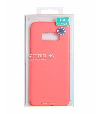 Pouzdro MERCURY Soft Feeling Case Huawei P10 LITE růžová