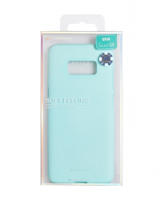 Pouzdro MERCURY Soft Feeling Case Samsung J330 Galaxy J3 (2017) mint