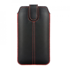 Pouzdro FORCELL M4 iPhone X, XS (5,8) černá