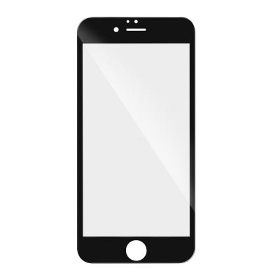 Tvrzené sklo 3D FULL GLUE iPhone 6, 6S (4,7) černá