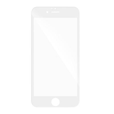 Tvrzené sklo 3D FULL GLUE iPhone 7 PLUS, 8 PLUS (5,5) bílá