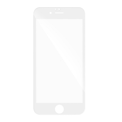 Tvrzené sklo 3D FULL GLUE iPhone 7, 8 (4,7) bílá