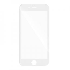 Tvrzené sklo 5D FULL GLUE iPhone 7, 8, SE (2020) bílá