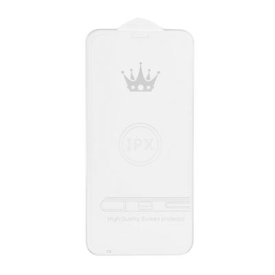 Tvrzené sklo 5D FULL GLUE iPhone X, XS (5,8) transparentní