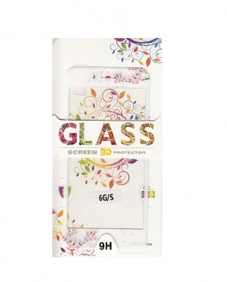 Tvrzené sklo 2,5D DESIGN Soft Frame Full Cover iPhone 7, 8 (4,7) vzor 2