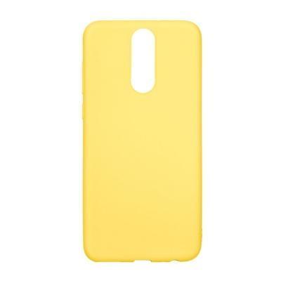 Pouzdro Forcell SOFT Huawei MATE 10 LITE žlutá