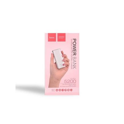 POWER Bank HOCO Tiny B21 - 5200 mAh barva bílá