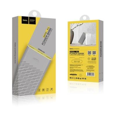 POWER Bank HOCO Rege B31 - 20000 mAh barva šedá
