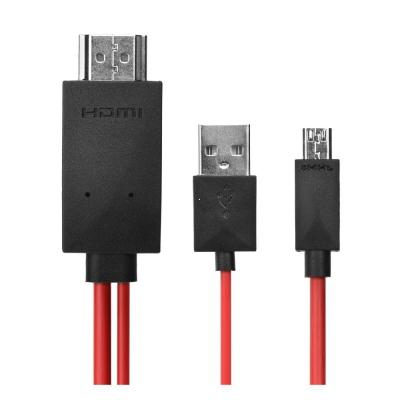 Adaptér MHL Kabel Micro USB - HDMI TV FullHD