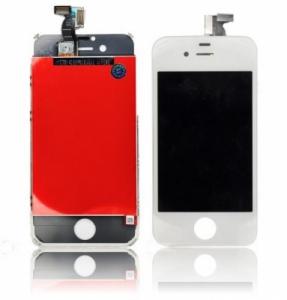 Dotyková deska iPhone 4S + LCD bílá Class A