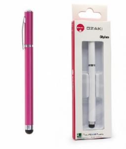 Dotykové pero (stylus) kapacitní OZAKI barva růžová