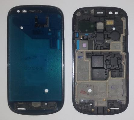 Samsung i8190, i8200 Galaxy S3 mini kryt přední černá