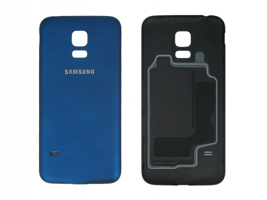 Samsung G800 Galaxy S5 mini kryt baterie modrá