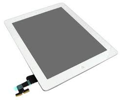 Dotyková deska Apple iPad 2  bílá originál + tlačítko HOME + Lepítka