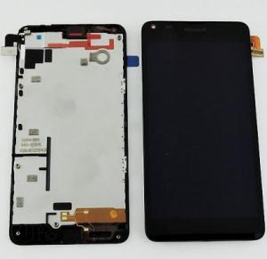 Dotyková deska Nokia 640 Lumia + LCD s rámečkem černá