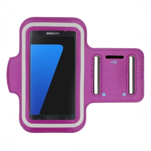 "Pouzdro na ruku velikost 5.5"" - 6"" barva fialová"