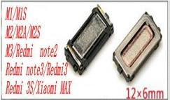 Reproduktor (sluchátko) Xiaomi Mi3, Redmi Note 2, Note 3, Redmi 3, 3S, MAX 12x6mm