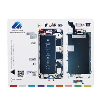 Magnetická podložka na opravu telefonu iPhone 6S PLUS